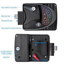 Load image into Gallery viewer, Black Remote-Control RV Keyless Entry Door Lock-13