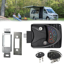 Load image into Gallery viewer, Remote-Control Anti-Theft RV Keyless Door Lock-14