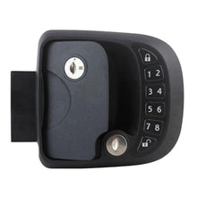 Load image into Gallery viewer, 15M Remote-Control Black RV Keyless Entry Door Lock-14