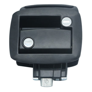 New Black RV Paddle Entry Door Lock-1