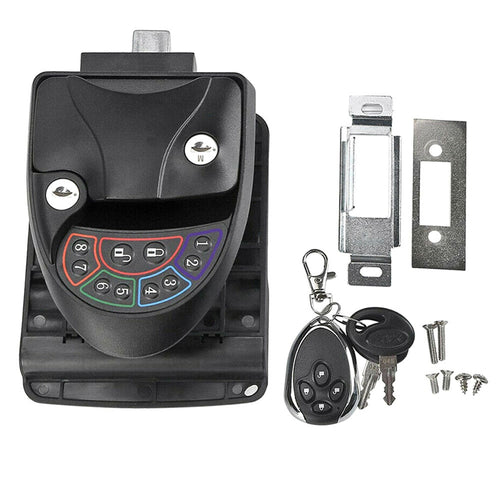 Remote-Control Keyless Entry RV Door Lock-9