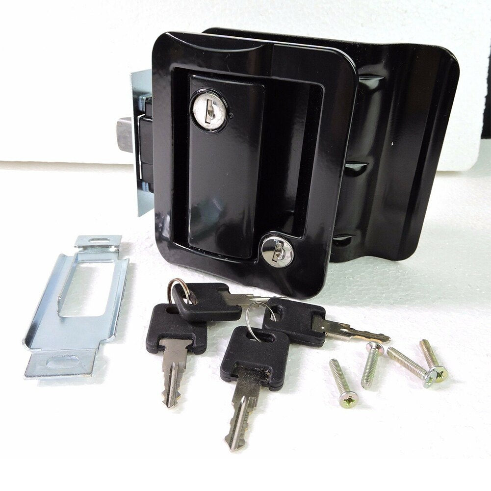Durable Zinc Alloy RV Paddle Entry Door Lock-8