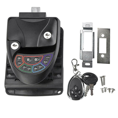 Remote-Control Anti-Theft RV Keyless Door Lock-9