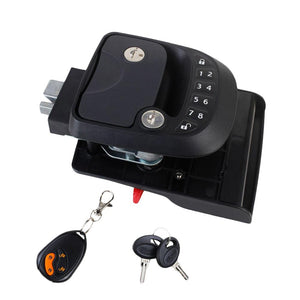 15M Black Durable RV Keyless Entry Door Lock-8