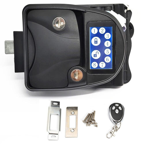 Touch-Screen RV Keyless Entry Door Lock-10