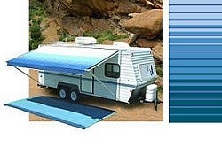 17ft Ocean Blue Carefree Rv Awning Replacement