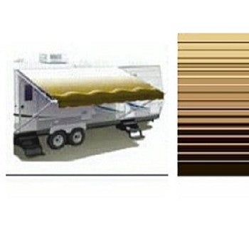14ft Sierra Brown RV Awning Replacement