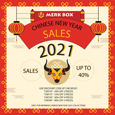 UP TO 40% OFF CHINESE NEW YEAR COLLECTIONS!