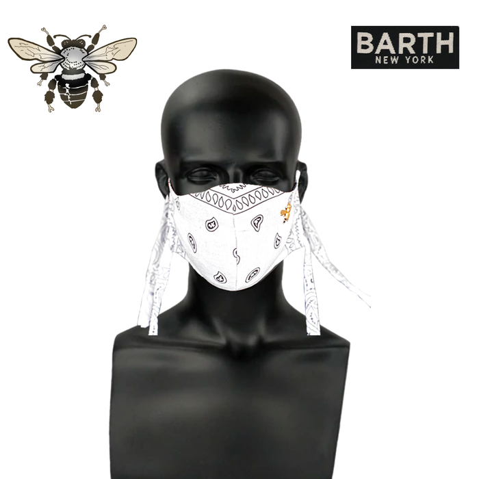 Barth NY: Fashion Face Mask (Allows for a N95 insert) (Unisex)