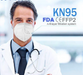 KN95 Protective Face Mask (FDA Registered, FFP2, CE EN149) - TheShoppyMall.com