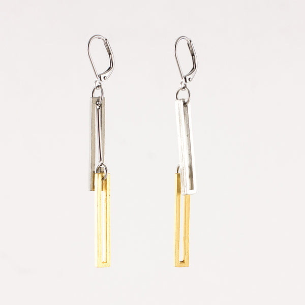 Chantal Earrings - Gold, Pewter or Rose Gold