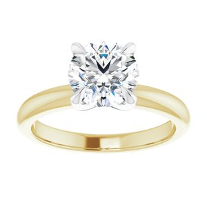 0.65 CT Diamond Solitaire Ring