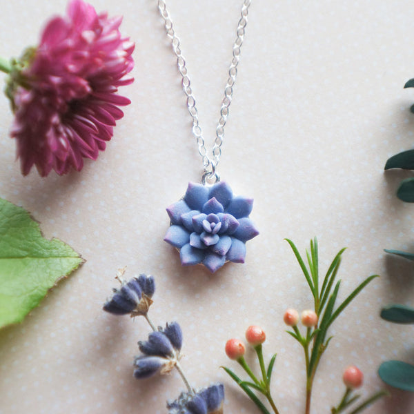 Petite Disc Succulent Drop {Blueberry}