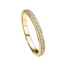 Load image into Gallery viewer, 10K Yellow Gold Diamond Band