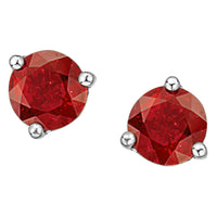 Martini-Set Gemstone Stud Earrings