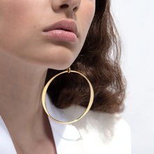 Load image into Gallery viewer, Lunar Hoops - Gold