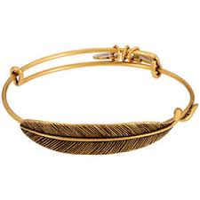 Alex & Ani Quill Feather Wrap Bracelet