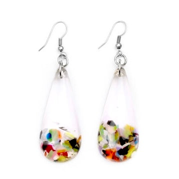 J.Brazil Tear-Shape Drop Earrings - Cascade
