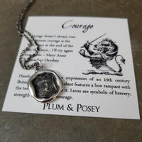 Courage - Lion Rampant
