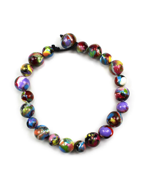 J.Brazil Sphere Necklace - mix