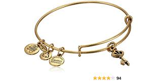 Alex & Ani Charm Bracelet - Skeleton Key
