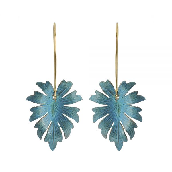 Verdigris Eden Earrings