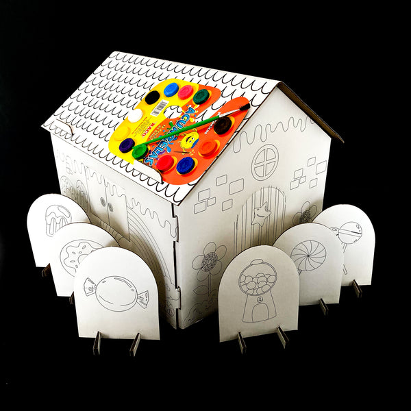 Coloring house
