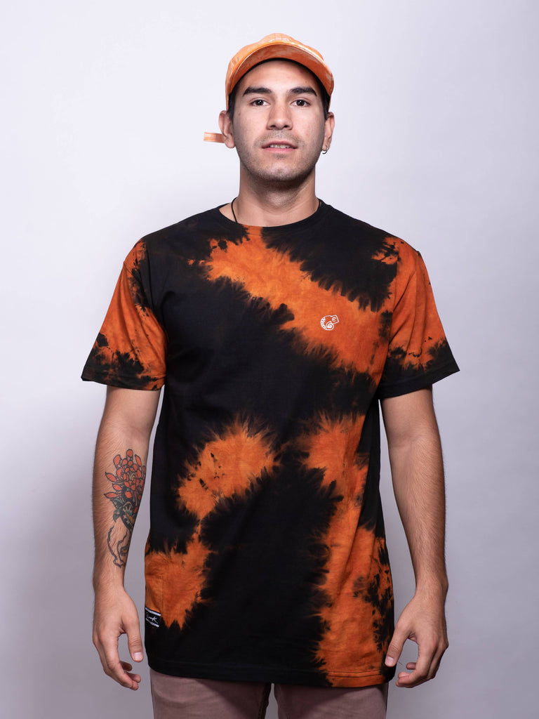 Polera Camaleón Static Dye Orange