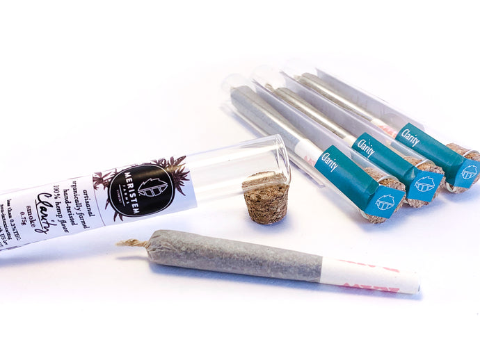 Hemp Flower Pre Roll 'Clarity'