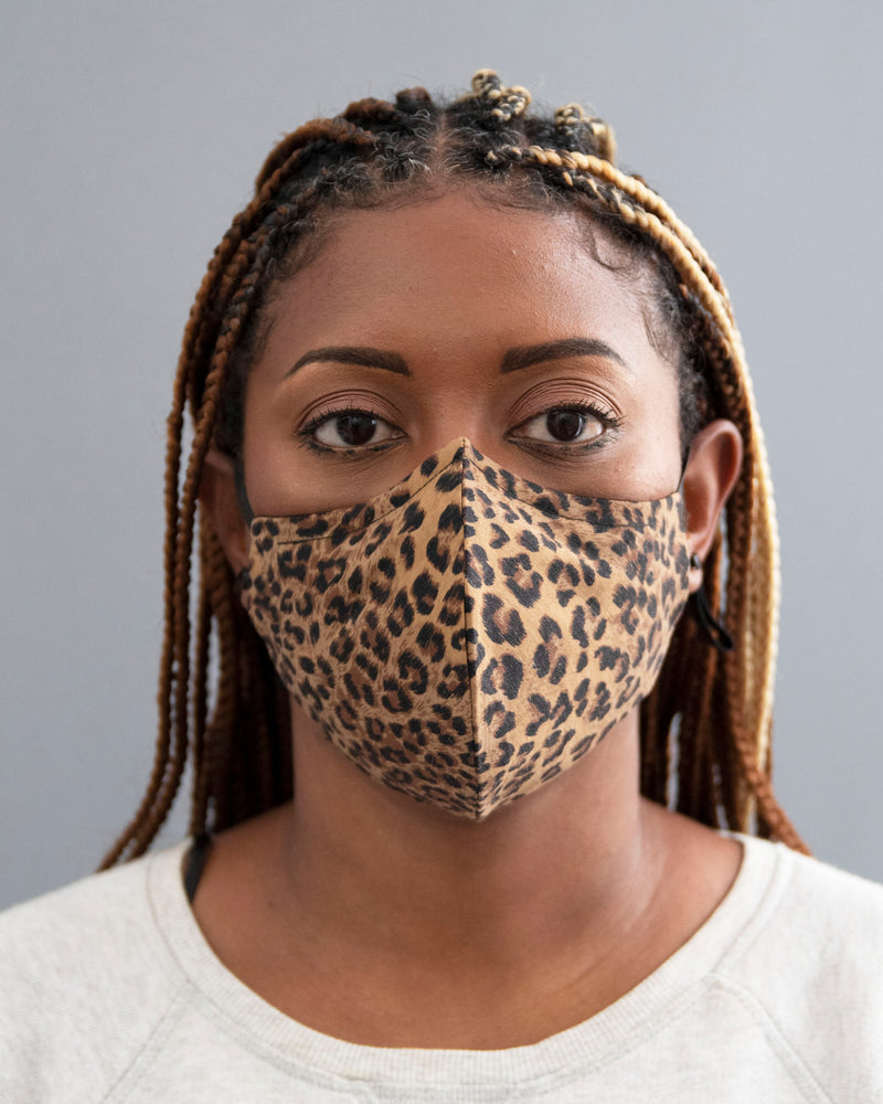 Cheetah Print Face Mask - pacorogiene