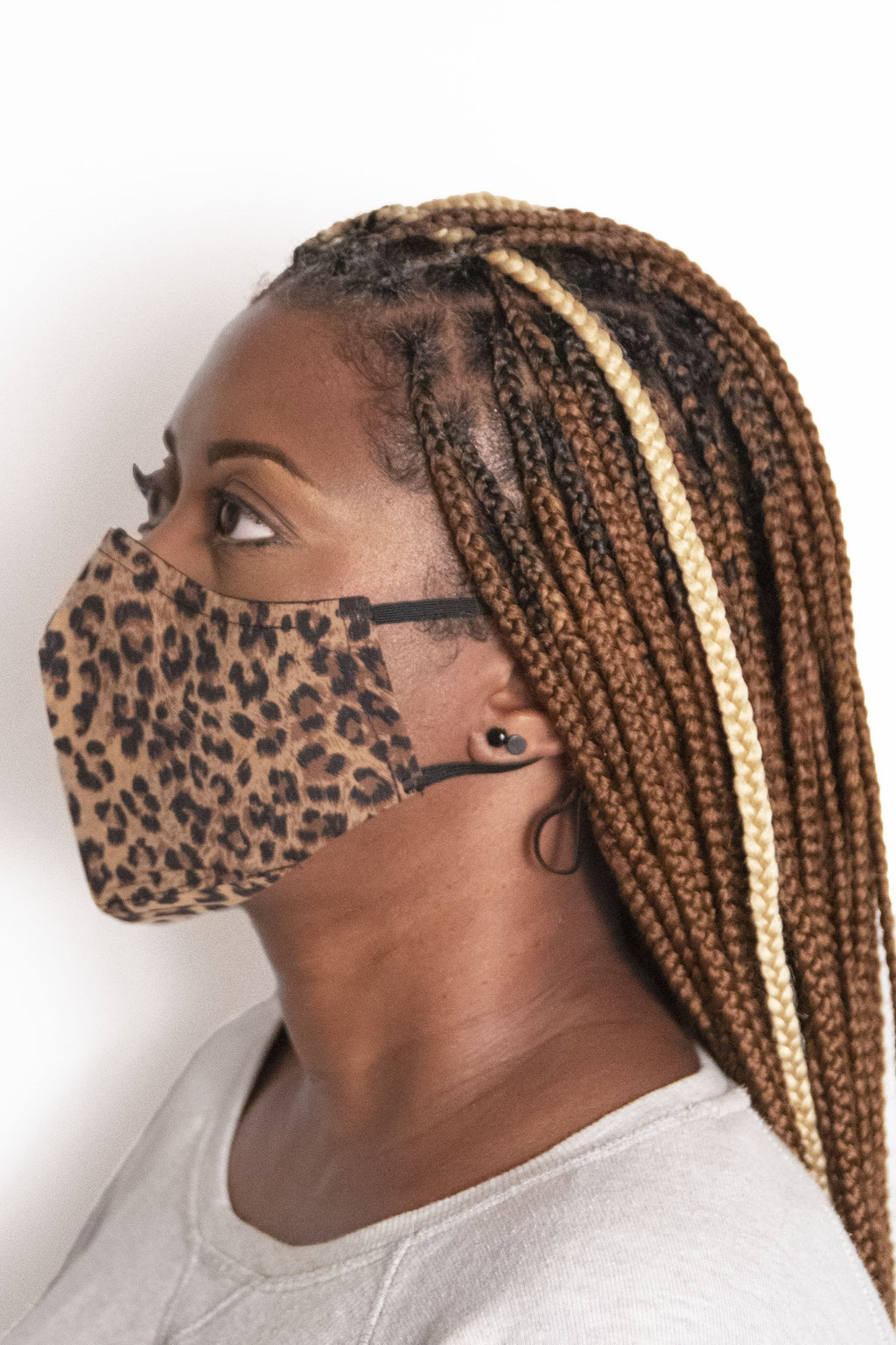 Cheetah Print Secure-Fit Face Mask - pacorogiene