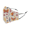 Reusable Face Cover Lovebug Ivory