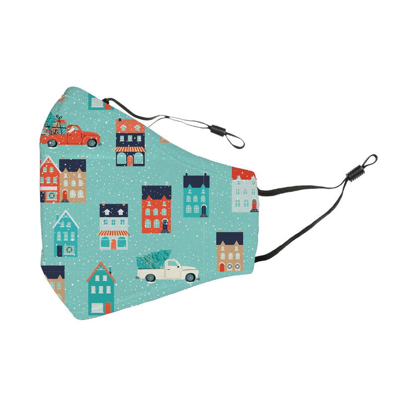 Reusable Face Cover Snow Place Like Home