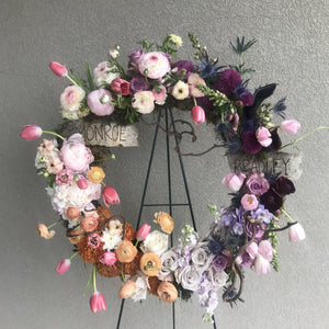 Easel Wreath