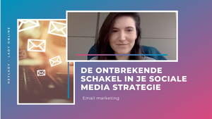 Dit is de ontbrekende schakel in je sociale media strategie