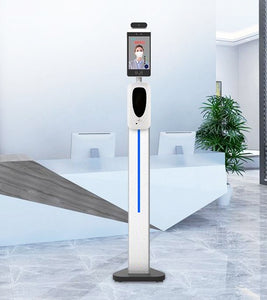 10-Pack of Pass Management Temperature Screening Kiosks with 4' Pedestal Stands - TempSafe Technologies