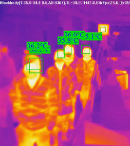 10-Pack of Rapid Scanning Thermal Camera Surveillance Systems with Facial Recognition - TempSafe Technologies