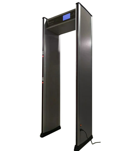 Walk Through Temperature Screening Metal Detector Security Gate - TempSafe Technologies