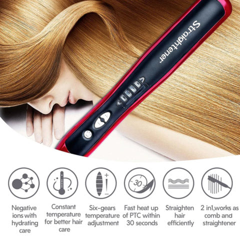 Specifications of Hair Straightener Styler