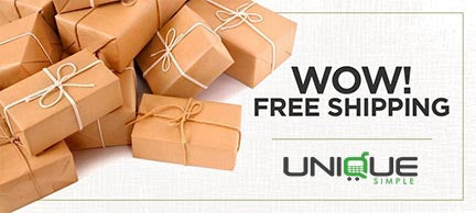 Free Shipping at UniqueSimple.com
