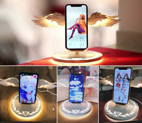 Wings Wireless Charger Styles