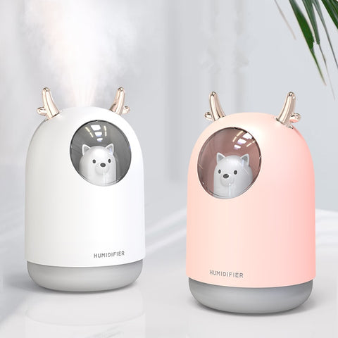 Lovely Air Humidifier in Pink or White