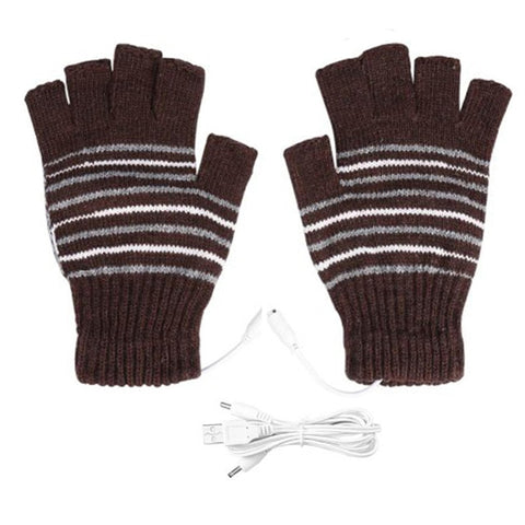 USB Hand-Warming Gloves via UniqueSimple.com