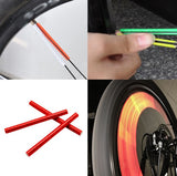 Warning Strip Bicycle Reflectors - UniqueSimple