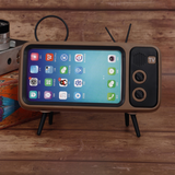 Retro TV Bluetooth Speaker Mobile Phone Holder - UniqueSimple