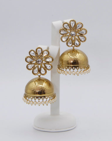 Floral shaped Chumkee Earrings