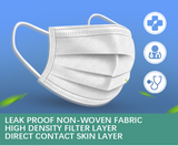 Surgical Protective Mask (Set Of 50)
