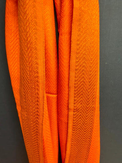 Cashmere Blend Persimmon Scarf