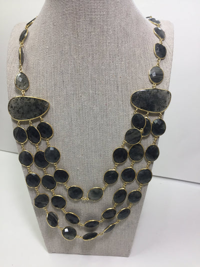Akka Devi Rutile Quartz Necklace