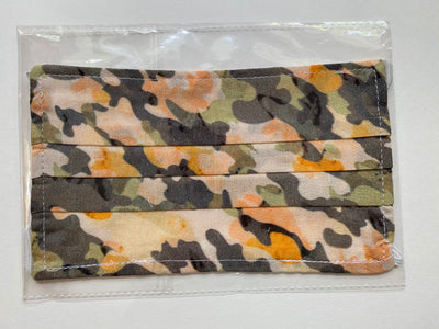 Cotton Masks- Camo Design